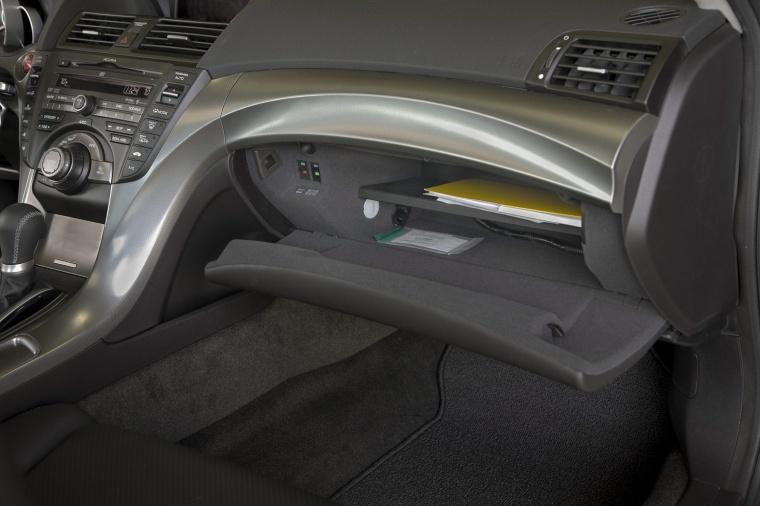 2010 Acura TL SH-AWD Glove Box Picture