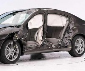 2010 Acura TL IIHS Side Impact Crash Test Picture