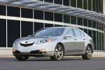 2011 Acura TL SH-AWD in Palladium Metallic - Static Front Left View