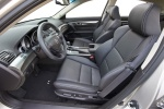 Picture of 2011 Acura TL SH-AWD Front Seats in Ebony