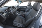 Picture of 2012 Acura TL Front Seats in Ebony