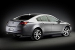 2014 Acura TL in Graphite Luster Metallic - Static Rear Right Three-quarter View