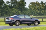2016 Acura TLX in Fathom Blue Pearl - Static Rear Right Three-quarter View
