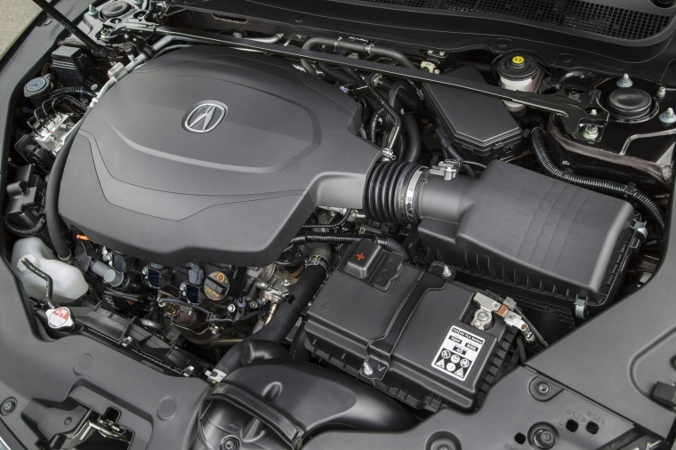 2017 Acura TLX 3.5-liter V6 Engine Picture