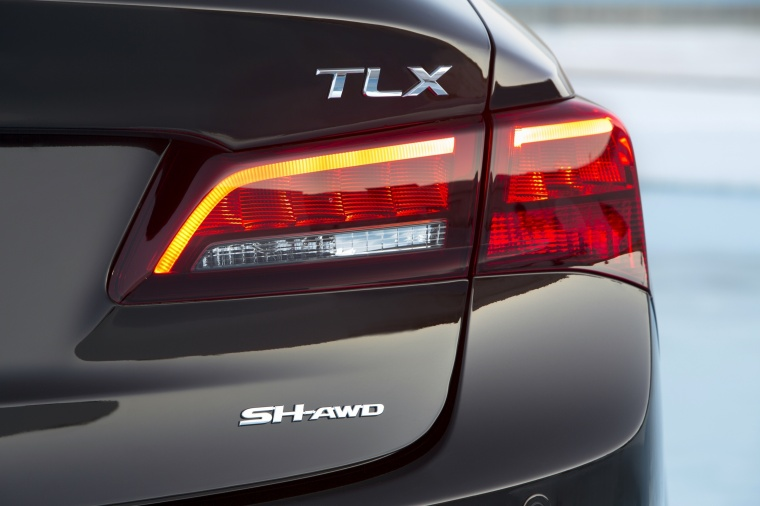 2017 Acura TLX V6 SH-AWD Tail Light Picture