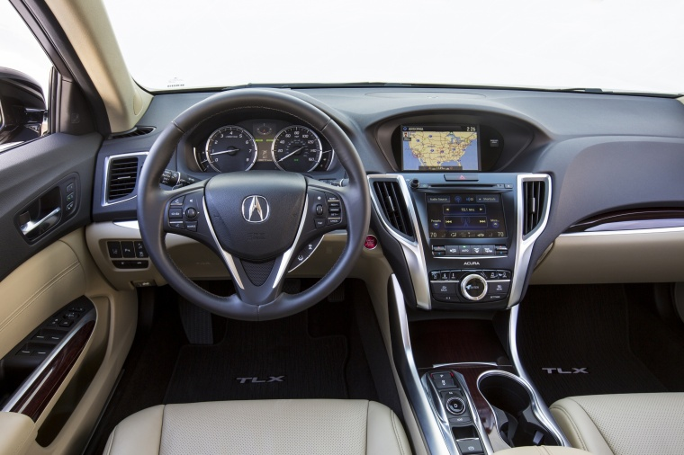 2017 Acura TLX V6 SH-AWD Cockpit Picture