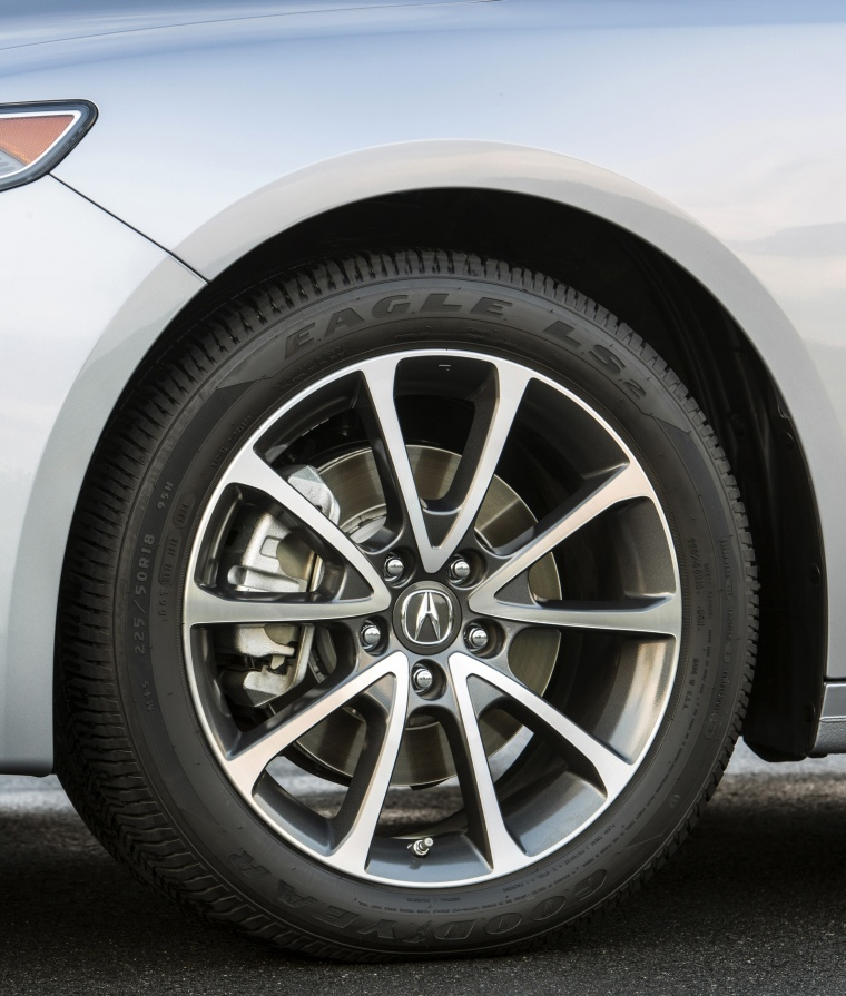 2017 Acura TLX V6 SH-AWD Rim Picture