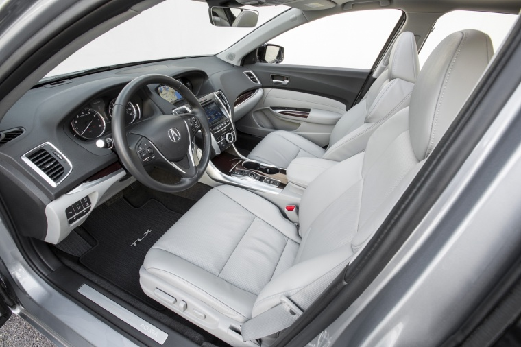 2017 Acura TLX V6 SH-AWD Front Seats Picture