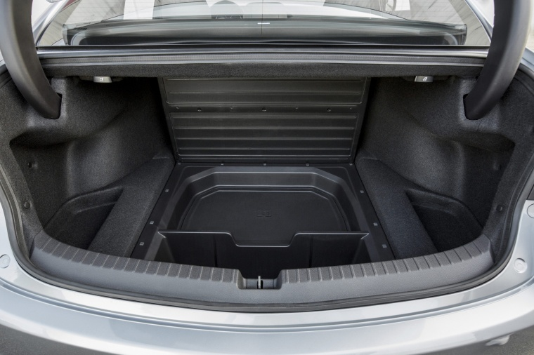 2017 Acura TLX V6 SH-AWD Trunk Underfloor Storage Picture
