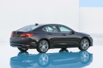 2017 Acura TLX V6 SH-AWD in Black Copper Pearl - Static Rear Right Three-quarter View
