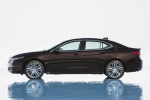 2017 Acura TLX V6 SH-AWD in Black Copper Pearl - Static Side View