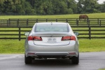 2017 Acura TLX V6 SH-AWD in Lunar Silver Metallic - Static Rear View