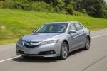 2017 Acura TLX V6 SH-AWD in Lunar Silver Metallic - Driving Front Left View