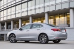 2017 Acura TLX V6 SH-AWD in Lunar Silver Metallic - Static Rear Left Three-quarter View
