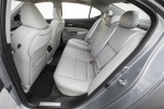 2017 Acura TLX V6 SH-AWD Rear Seats in Parchment