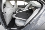 2017 Acura TLX V6 SH-AWD Rear Seats Folded in Parchment