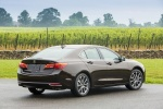2017 Acura TLX in Black Copper Pearl - Static Rear Right View