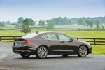 2017 Acura TLX in Black Copper Pearl - Static Rear Right Three-quarter View