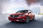 2018 Acura TLX Sedan in San Marino Red - Static Front Left View