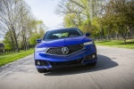 2018 Acura TLX A-Spec Sedan in Still Night Pearl - Driving Frontal View
