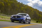 2018 Acura TLX A-Spec Sedan in Still Night Pearl - Driving Front Left View