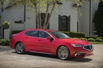 2018 Acura TLX Sedan in San Marino Red - Static Front Right Three-quarter View
