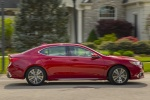 2018 Acura TLX Sedan in San Marino Red - Driving Side View