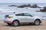 2011 Acura ZDX in Palladium Metallic - Static Rear Right View