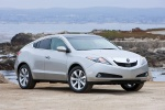2011 Acura ZDX in Palladium Metallic - Static Front Three-quarter View