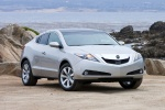 2011 Acura ZDX in Palladium Metallic - Static Front Right View