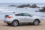 2013 Acura ZDX in Palladium Metallic - Static Rear Right View