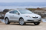 2013 Acura ZDX in Palladium Metallic - Static Front Three-quarter View