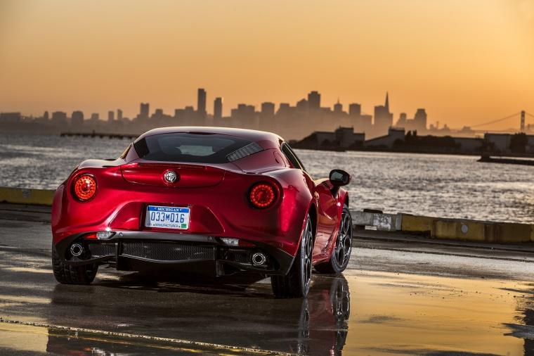 2015 Alfa Romeo 4C Coupe Picture