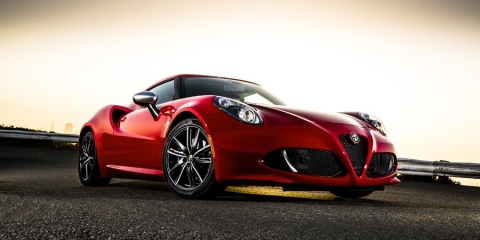 2015 Alfa Romeo 4C Coupe, Spider Review