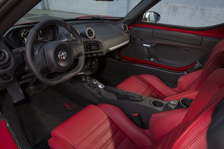 2017 Alfa Romeo 4C Coupe Interior Picture