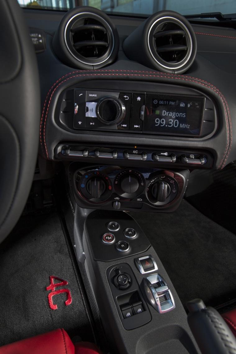 2017 Alfa Romeo 4C Coupe Center Stack Picture