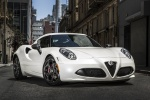 2017 Alfa Romeo 4C Coupe in White - Static Front Right View