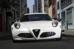 2017 Alfa Romeo 4C Coupe in White - Static Frontal View