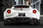 2017 Alfa Romeo 4C Coupe in White - Static Rear View