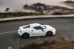 2017 Alfa Romeo 4C Coupe in White - Driving Side Top View