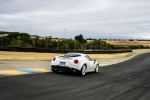 2017 Alfa Romeo 4C Coupe in White - Driving Rear Right View