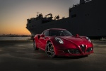 2017 Alfa Romeo 4C Coupe in Rosso Alfa - Static Front Right View