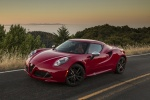 2017 Alfa Romeo 4C Coupe in Rosso Alfa - Static Front Left Three-quarter View