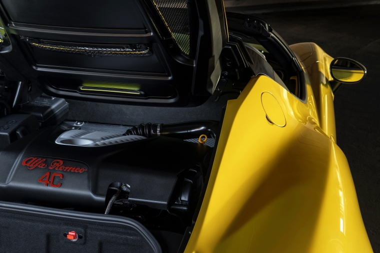 2018 Alfa Romeo 4C Spider 1.7L Inline-4 turbo Engine Picture