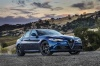 2017 Alfa Romeo Giulia AWD in Montecarlo Blue Metallic from a front right three-quarter view