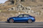 2017 Alfa Romeo Giulia AWD in Montecarlo Blue Metallic - Driving Side View