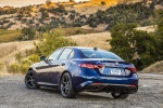 2018 Alfa Romeo Giulia AWD in Montecarlo Blue Metallic - Static Rear Left Three-quarter View