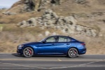 2018 Alfa Romeo Giulia AWD in Montecarlo Blue Metallic - Driving Side View
