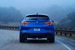 2018 Alfa Romeo Stelvio Quadrifoglio AWD in Montecarlo Blue Metallic - Static Rear View