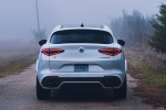 2018 Alfa Romeo Stelvio Quadrifoglio AWD in Trofeo White Tri-Coat - Static Rear View